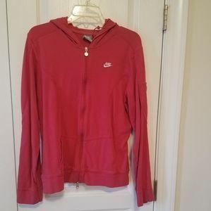 Nike Pink Hoodie Jacket